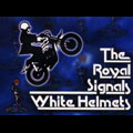 Royal corps of signals white helmets